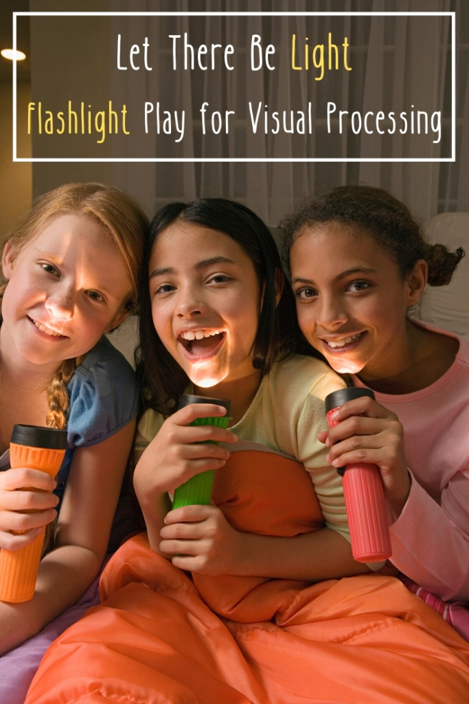 Let There Be Light: Flashlight Play for Visual Processing