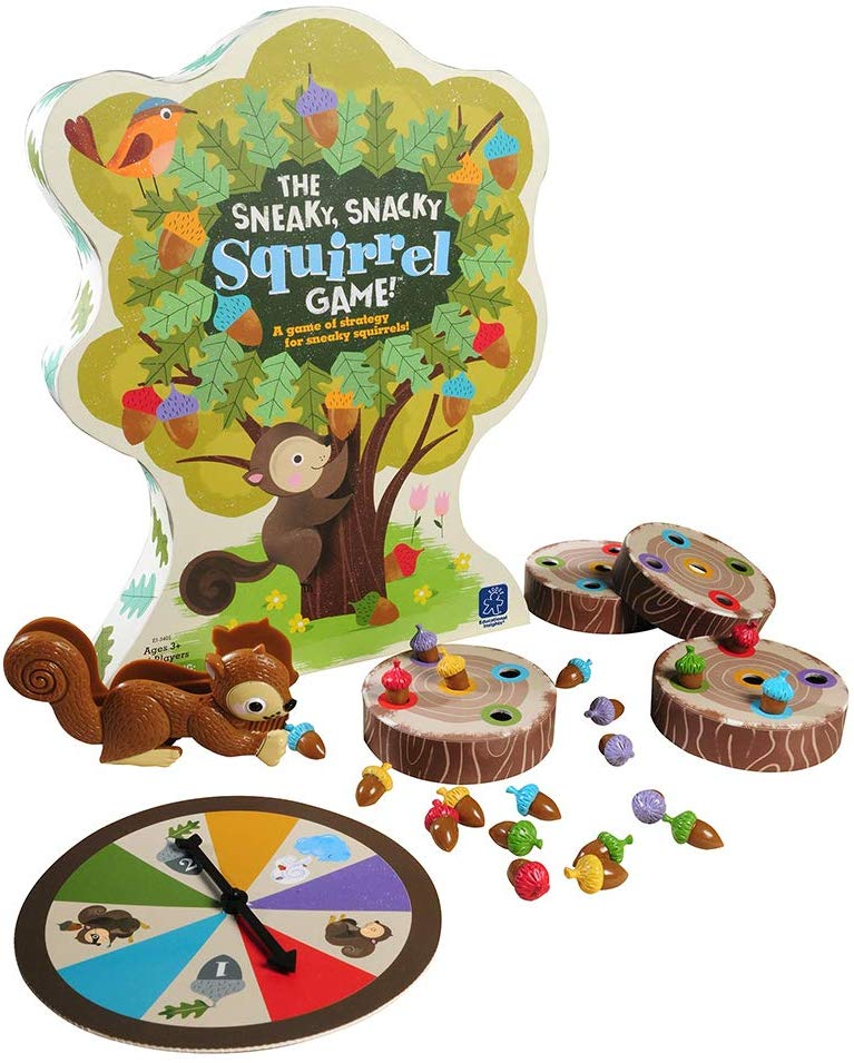 The Sneaky Squirrel Game
