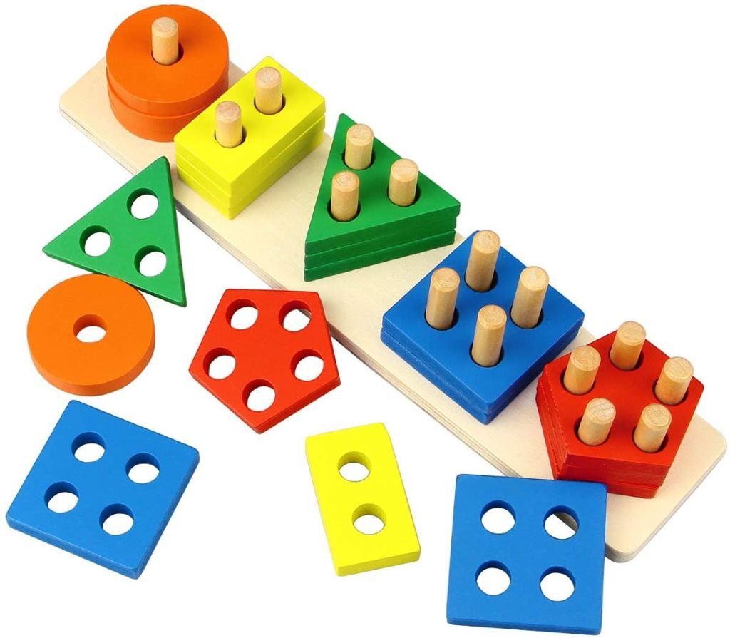 Wooden Puzzle Shape Sorter