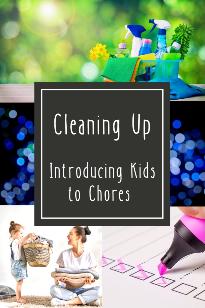 Cleaning Up: Introducing Kids to Chores
